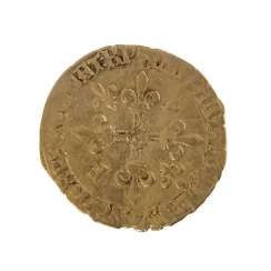 France/GOLD - 1 Ecu d'or without a year, Francis I.,