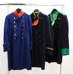 Prussia: Officer's frock coat - 3 copies.