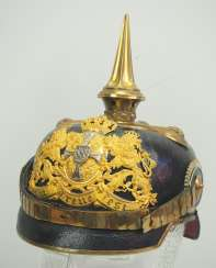 Bavaria: Pickelhaube for reserve officers.