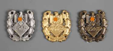 Three Badges D. Sch. V.