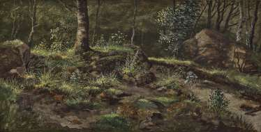 Forest floor , Weber, Paul, attributed 1823 Darmstadt, Germany - 1916 in Munich, attributed to