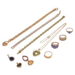 Jewelry mixed lot of 13 pieces,