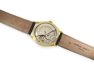 Watch: fine automatic 18K Gold IWC men's watch with Central second, Schaffhausen, 1961