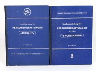 Operation manual for passenger cars, 2x