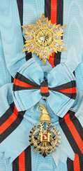 Albania: order of the Loyal / Besa-order, 2. Model (1940-1943), Grand Cross Set.