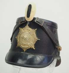 Prussia: Shako for teams of the Guard Rifle Battalion - chamber piece.