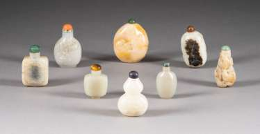 EIGHT SNUFFBOTTLES China