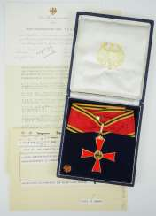 Discount Egon Franke, the German Federal order of merit: Grand cross of merit, in a case with the invitation of the Federal Minister for intra-German relations.