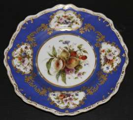 Plate with flowers and fruits, IPE