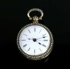 Spindle pocket watch