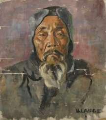 Portrait eines bärtigen, alten Mannes