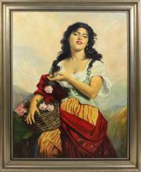 The Gypsy - unknown artist