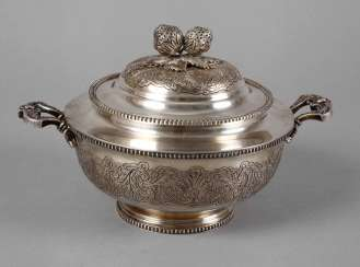 Silver Lid Tureen Portugal