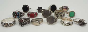 Lot Rings SILBER.