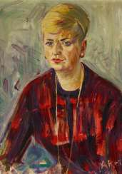 Portrait of a Young Woman (Inge Ries-Hüser)