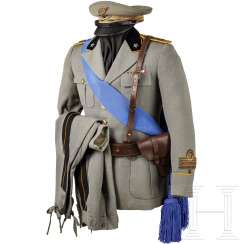 Uniform of a captain of the artillery in WWII