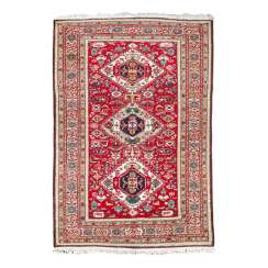 Orient carpet. ARDEBIL/PERSIA, around 1950, 217x142 cm.