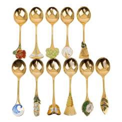 ROBBE & BERKING, 11 annual spoons