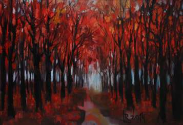 «Arbres rouge»