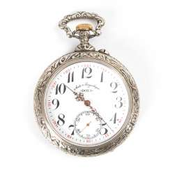 Large Art Nouveau Railway Pocket Watch