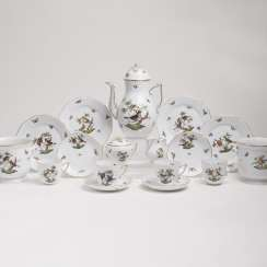 Coffee service 'Rothschild' for 6 persons