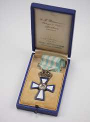Greece: cross of Valor, Gold, in a case.