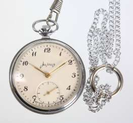 Men's pocket watch *USSR-Soviet-Russian* with chain