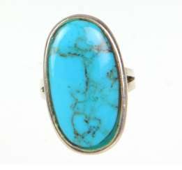 Turquoise Ring - Silver 925