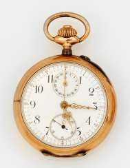 Belle Epoque pocket watch with chronograph