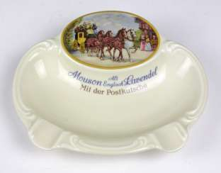 Rosenthal ash tray with picture