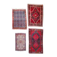 Four Oriental Rugs. PERSIA, 1970s.