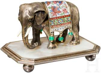 Spice shaker in the Form of an elephant, Vienna (?), around 1920