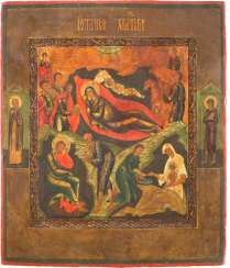ICON WITH THE NATIVITY OF CHRIST