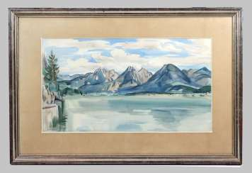 Summer at the lake - Kröner, Karl 1932