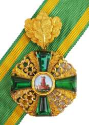 Baden: Grand of the order of the Zähringer lion, knights cross 1 Duke. Class with oak leaves.