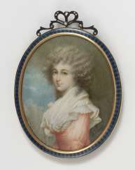 Unknown around 1801, portrait of a young lady