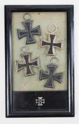 Prussia: Iron Cross, 1914, 2nd class - 4 copies.