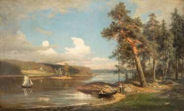Landscape painters of the second half of the 19th century. Year