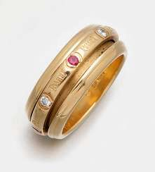 Ring with rubies and diamonds from Piaget