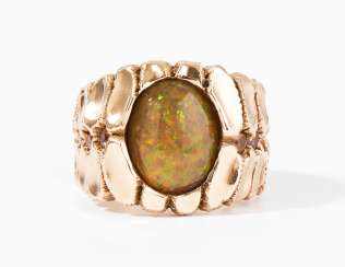 Philippe Pfeiffer Opal-Saphir-Ring