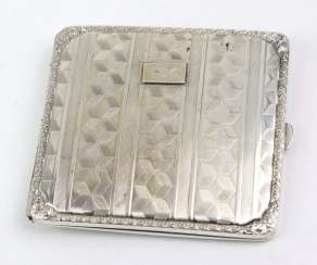 Cigarette case with engraving - silver 800
