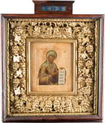 LARGE ICON OF THE MOTHER OF GOD FROM A DEESIS IN THE ICON CASE