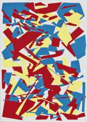 Knife Cuts Red-Yellow-Blue. 1993