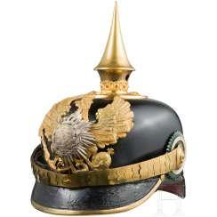 Helmet for officers in the 8. Thuringian infantry Regiment No. 153, around 1910