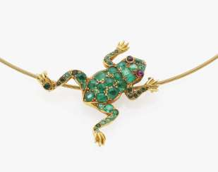 Necklace with frog Stuttgart