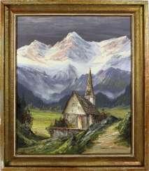 Church in the high mountains, Münnich, Heinz