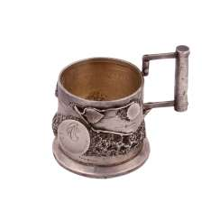 Russian silver Cup holder. I. Nesterov