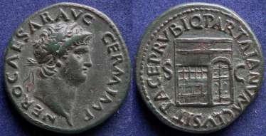 Roman Empire, Nero, 54-68 g