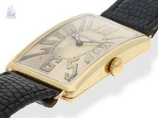 Watch: ancient, oversized men's watch from 1917, the Ulysse Nardin