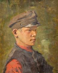 RUSSIAN PAINTER Active 1. Half of the 20. Century Portrait of a young